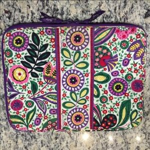 VERA BRADLEY Laptop Sleeve Summer Cottage
